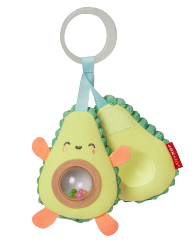 Skiphop Farmstand Avocado Stroller Toy