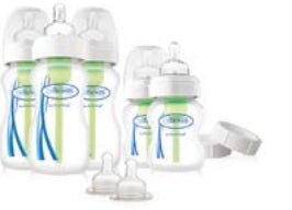 Dr. Brown's Options Wide-Neck Newborn Feeding Set