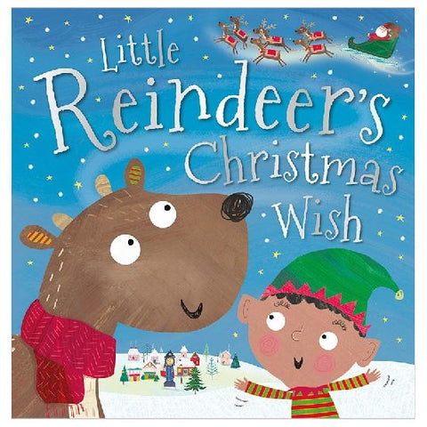 Make Believe Little Reindeer's Christmas Wish PB