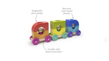 Tegu Baby & Toddler Magnetic Wooden Tegu Tram Blocks