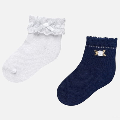 Mayoral 2 Socks Set - 10.530, Navy