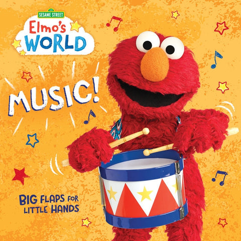 Elmo's World Book