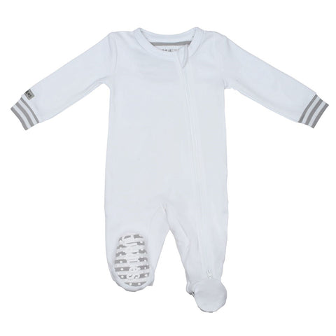 Juddlies Organic Sleeper - White/Grey
