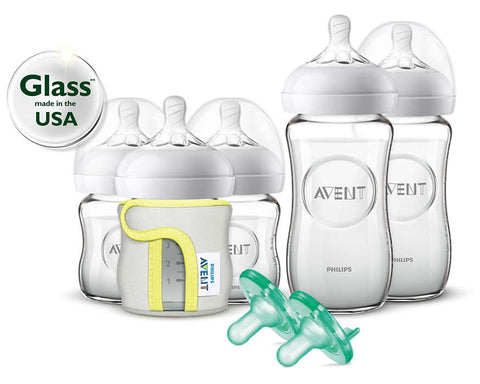 Avent Natural Glass Gift Set