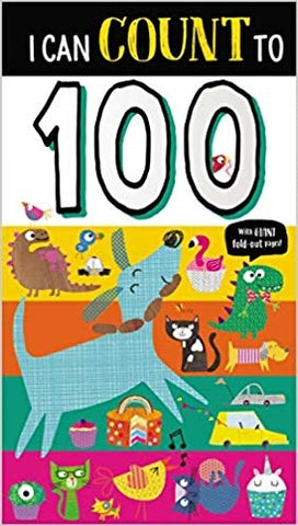 Make Believe I can count to 100 Board Book