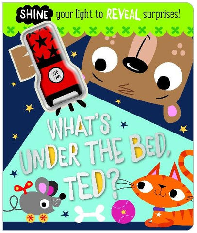 Make Believe What's Under the Bed Ted? Board Book