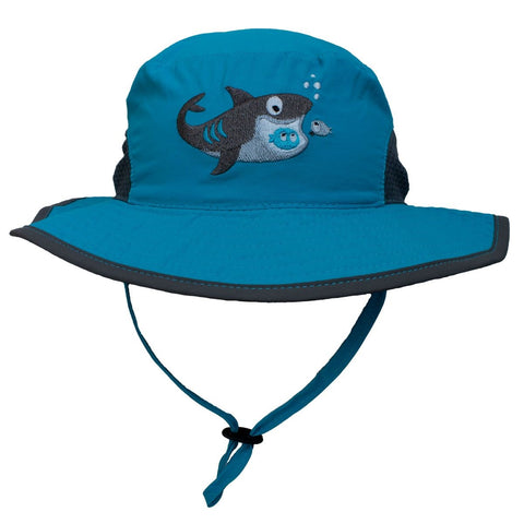 Calikids Boys Quick Dry Hat - Turquoise