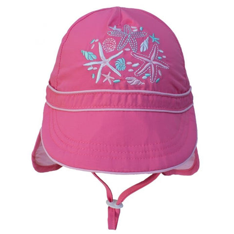 Calikids Girls Quick Dry Ball Hat - Pink Lemonade