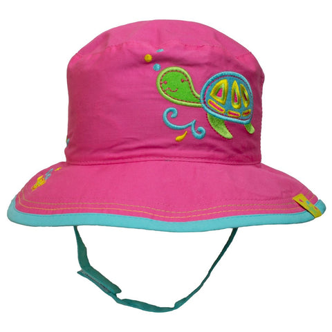 Calikids Girls Fashion Summer Hat - Turtle/Island