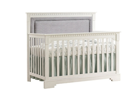 Natart Ithaca 5-in-1 Convertible Crib with Upholstered Fog Panel