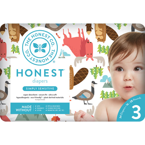 Honest Co Diapers - Into the Wild
