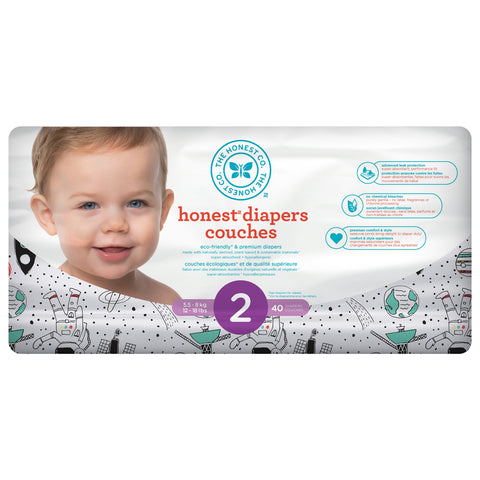 Honest Co Diapers - Space Travel