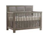 Natart Rustico 5-in-1 Convertible Crib with Upholstered Fog Panel