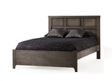 Natart Rustico Double Bed 54 in. (with low profile footboard and rails)