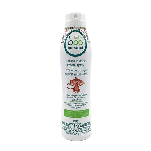 Baby Boo Bamboo Natural Diaper Cream Spray