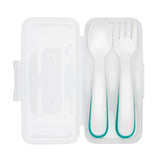 OXO Tot On the Go Plastic Fork and Spoon