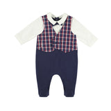 Mayoral Vest Onesie - Deep Blue (2611)