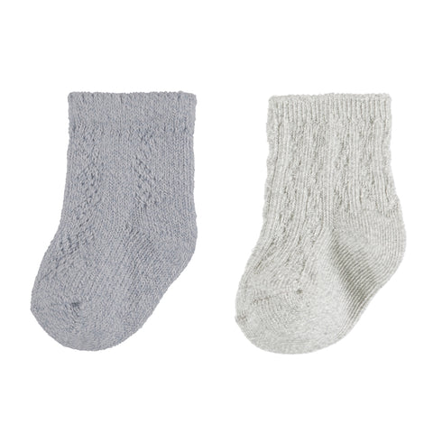 Mayoral 2 Socks Set - Steel (9162)