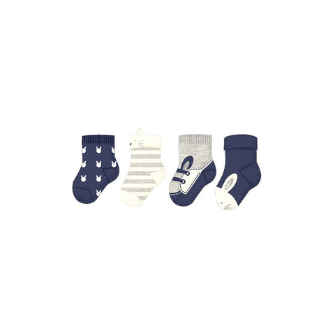 Mayoral 4pc Sock Set - Navy (9171)