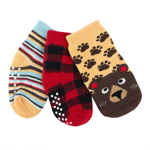 Zoocchini - Buddy Baby 3 Pc Socks Set (0-24m)