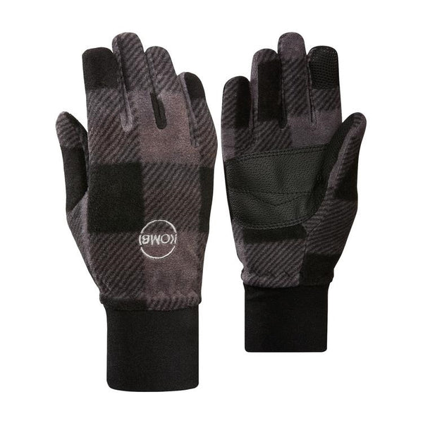Kombi Windguardian Jr Glove - Grey Plaid Buffalo