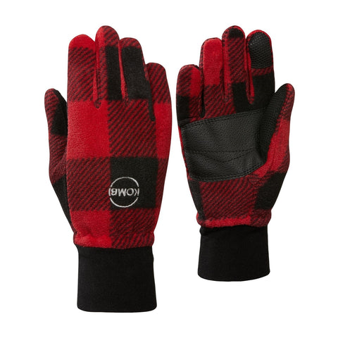 Kombi Windguardian Jr Glove - Red Plaid Buffalo