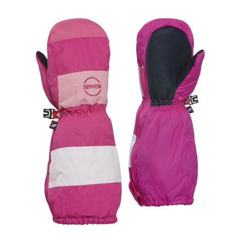 Kombi The Candy Man Children Mitt - Bright Pink