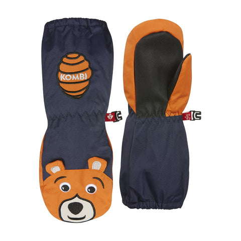 Kombi Animal Family Children Mitt - Benji The Bear