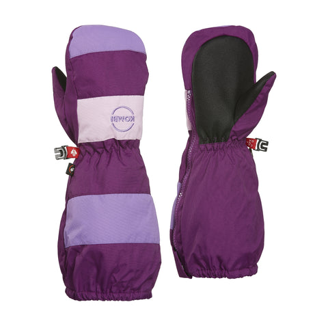 Kombi The Candy Man Children Mitt - Purple Fiction