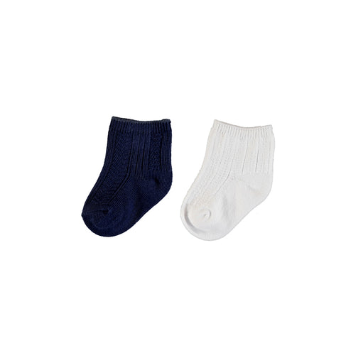 Mayoral 2 Socks Set - Midnight