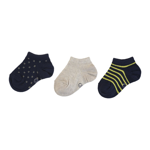 Mayoral 3 Socks Set - Navy