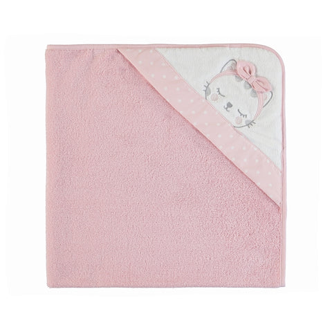 Mayoral Animal Face Towel - Wild Rose