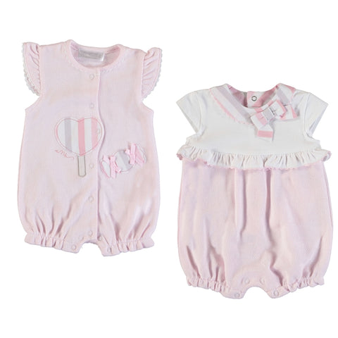 Mayoral 2 Sleeper set - BabyRose