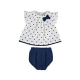 Mayoral Tricot Smock Set - Nautical