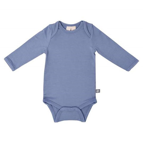 Kyte Baby Long Sleeve Bodysuit - Slate