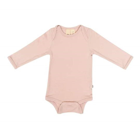 Kyte Baby Long Sleeve Bodysuit - Blush