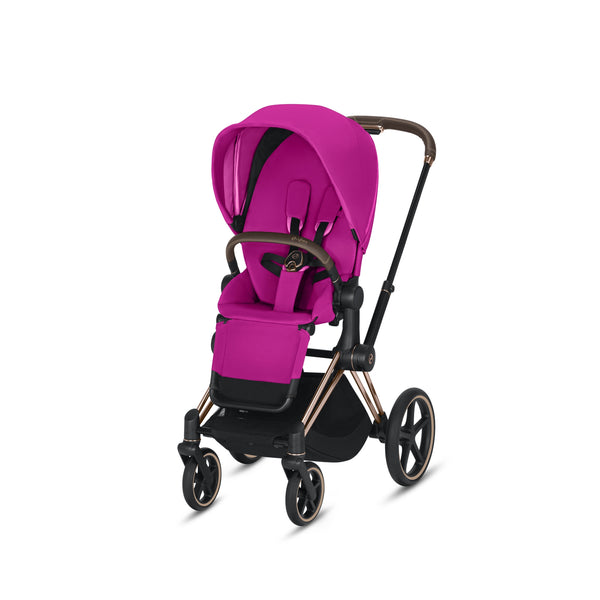 Cybex Priam Complete Stroller with Rose Gold Frame
