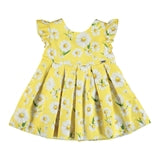 Mayoral Poplin Dress - Yellow