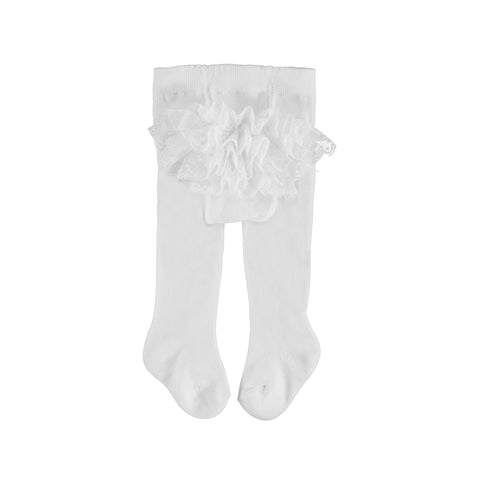 Mayoral Ruffles Panties - White
