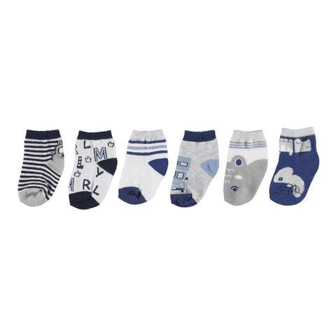 Mayoral Set of 6 Socks - Nautical