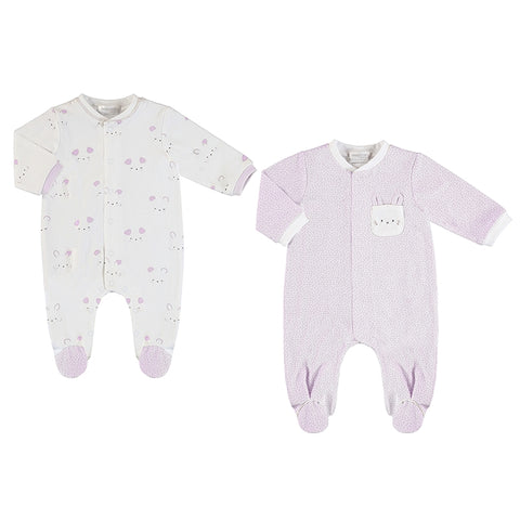 Mayoral Sleeper 2-piece Set - Baby Rose