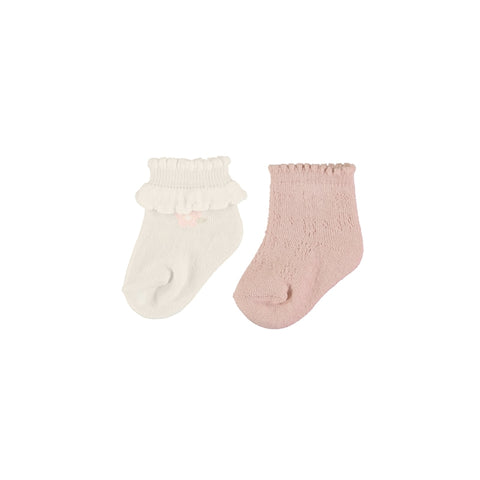 Mayoral Dressy Sock Set - Nectar