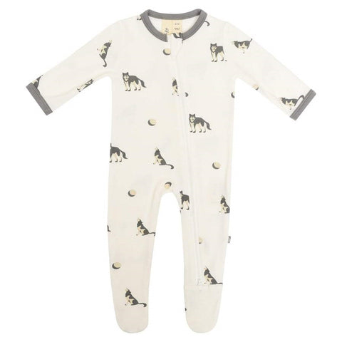 Kyte Baby Zippered Footie - Howl