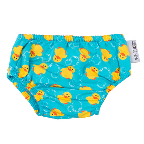 Zoocchini UPF50+ Swim Diapers Duck