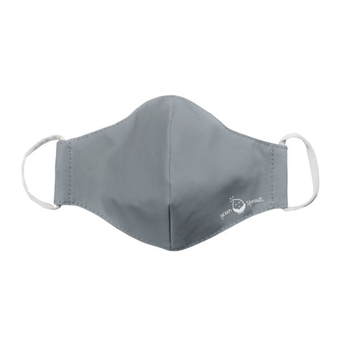 Green Sprouts Reusable Face Mask - Gray
