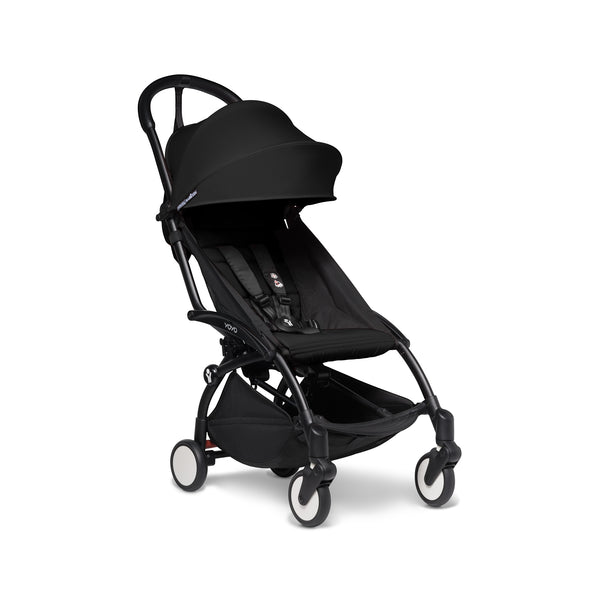 BabyZen YOYO2 Black Frame with 6+ Color Pack Stroller, Black