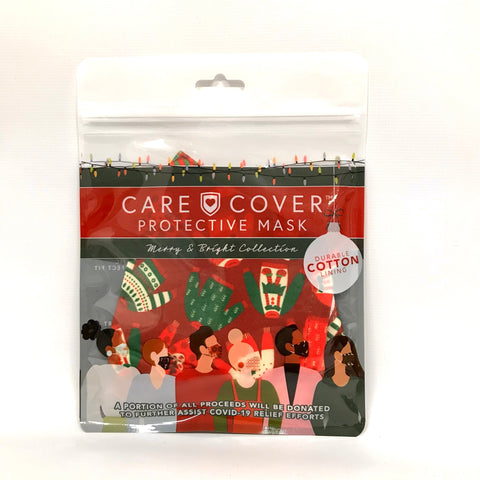 Care Cover Adults XMas Face Mask