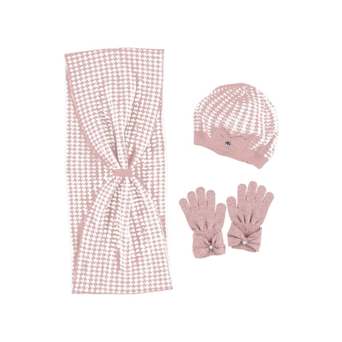 Mayoral Set of Scarf and Hat - Blush (10895)