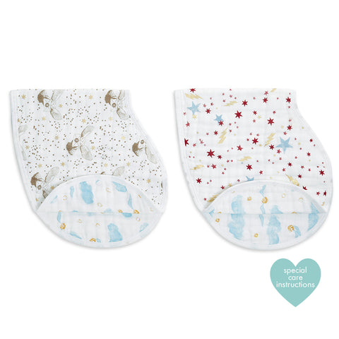 Aden + Anais Classic Burpy Bibs (2-pack) - Harry Potter
