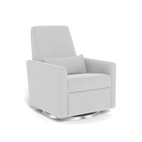 Monte Grano Glider Recliner with Stainless Steel Swivel Base